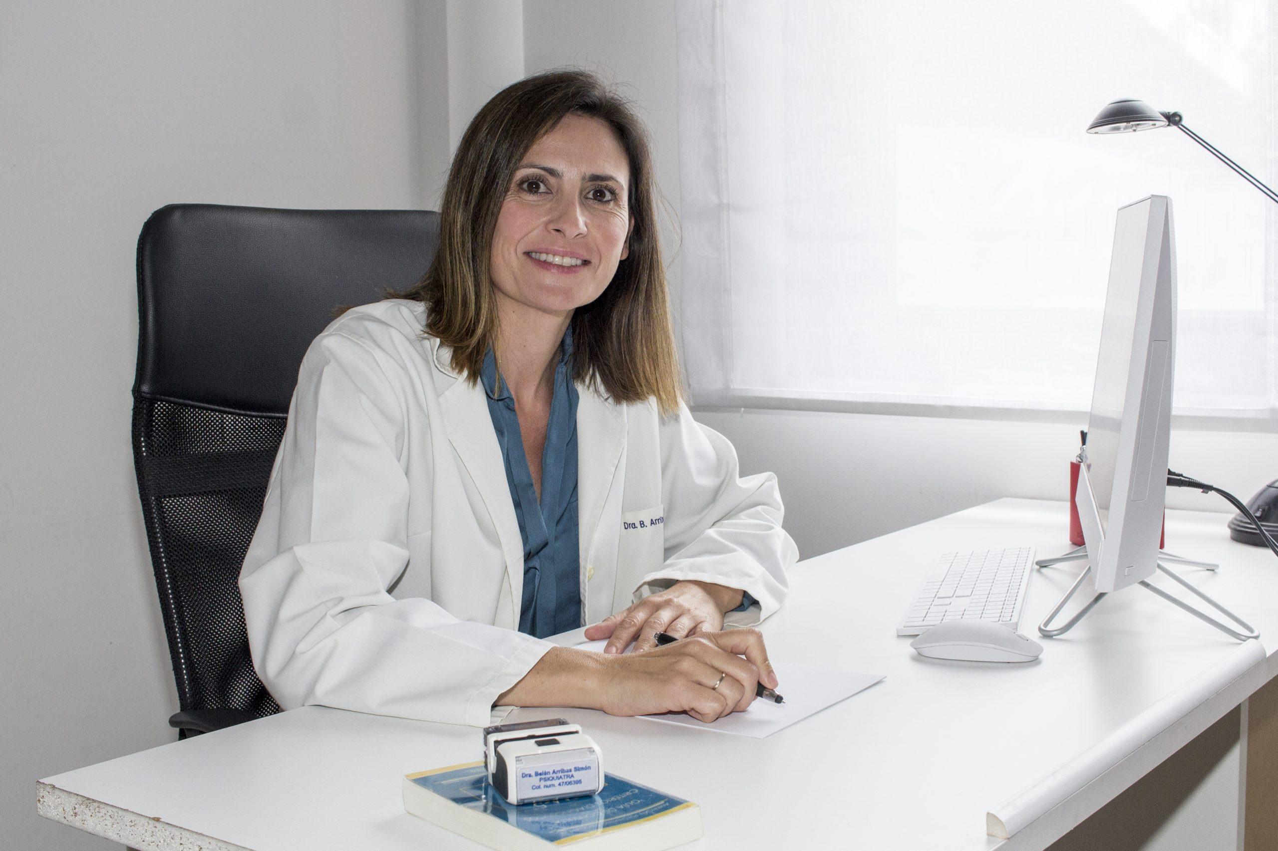 Doctora Belén Arribas Médico Psiquiatra Valladolid